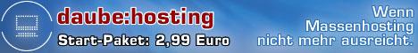 Banner von daube:hosting